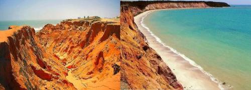 Areia colorida para deixar a gente mais bonita!