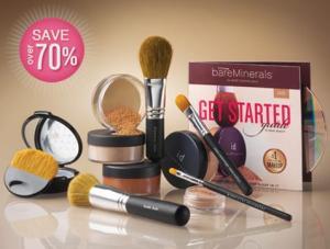 A Bare foi a primeira a lançar a maquiagem mineral que é febre nos EUA.