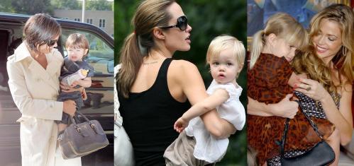 O que Katie, Angelina e Denise têm em comum além de serem mães de meninas?