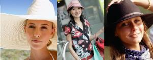 Na praia, na cidade ou no campo tem sempre um chapéu lindo para cada ocasião!