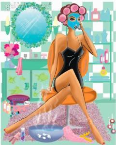 Aproveite o final de semana para organizar seus produtos de beleza e de quebra ficar mais bonita!