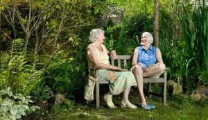 Quando eu for velhinha eu quero ficar assim...Mas só quando eu for velhinha.