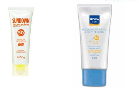 Dois protetores solares eficientes e acessíveis prometem disputar a preferência das meninas de pele oleosa no verão 2010. Qual o seu preferido?