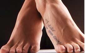 A tatuagem pode durar mais do que uma paixão...